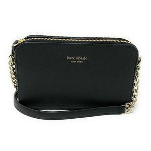 Kate Spade Cameron Double Zip Small Crossbody Bag